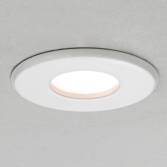 Astro Kamo LED IP65 Bathroom Downlight in White