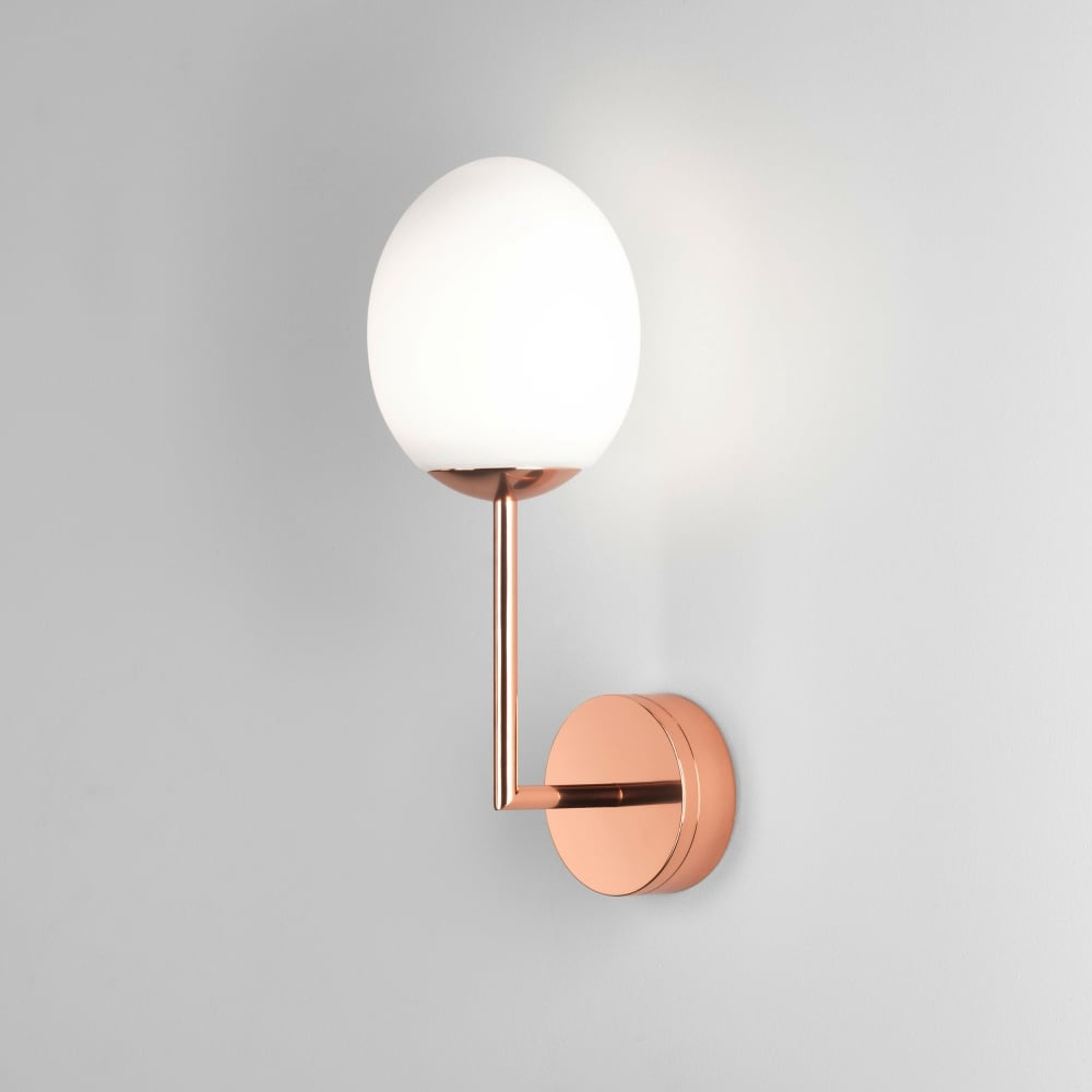 Astro Lighting 8008 Kiwi IP44 LED Bathroom Wall Light in Copper