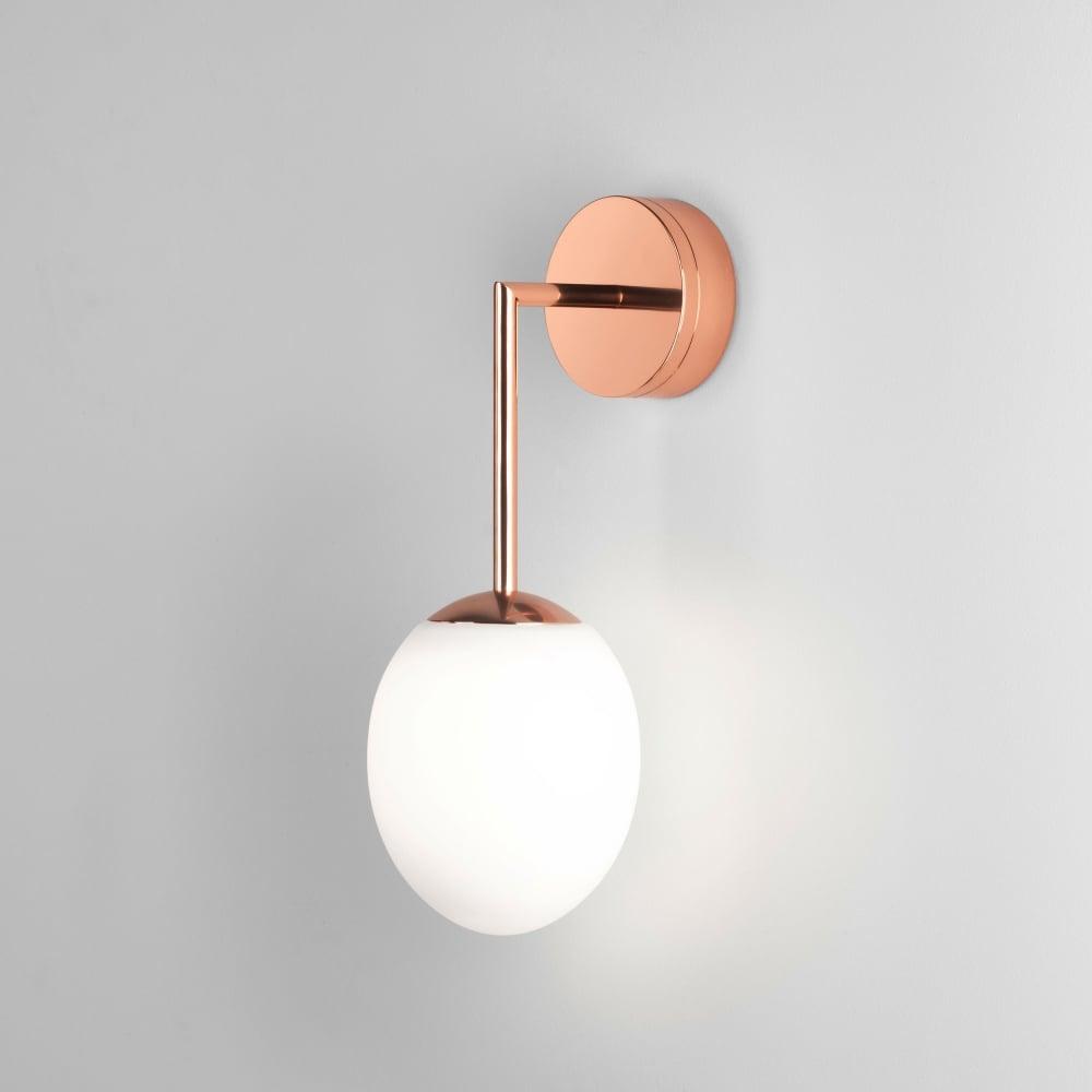 Astro lighting 8008 kiwi ip44 led bathroom wall light in copper kiwi ip44 led bathroom wall light in copper aloadofball Images