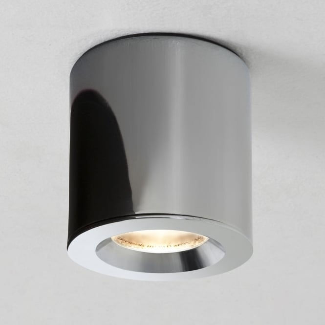 Astro KOS Surface Mounted Downlight IP65 in Polished Chrome