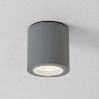 KOS Surface Mounted Downlight IP65 in Silver