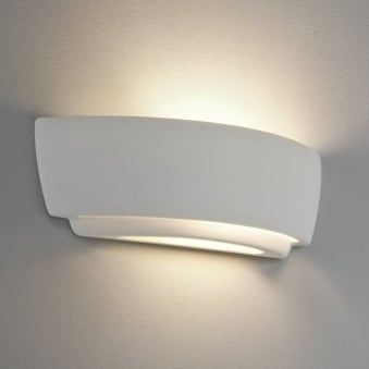 Kyo White Ceramic Wall Light