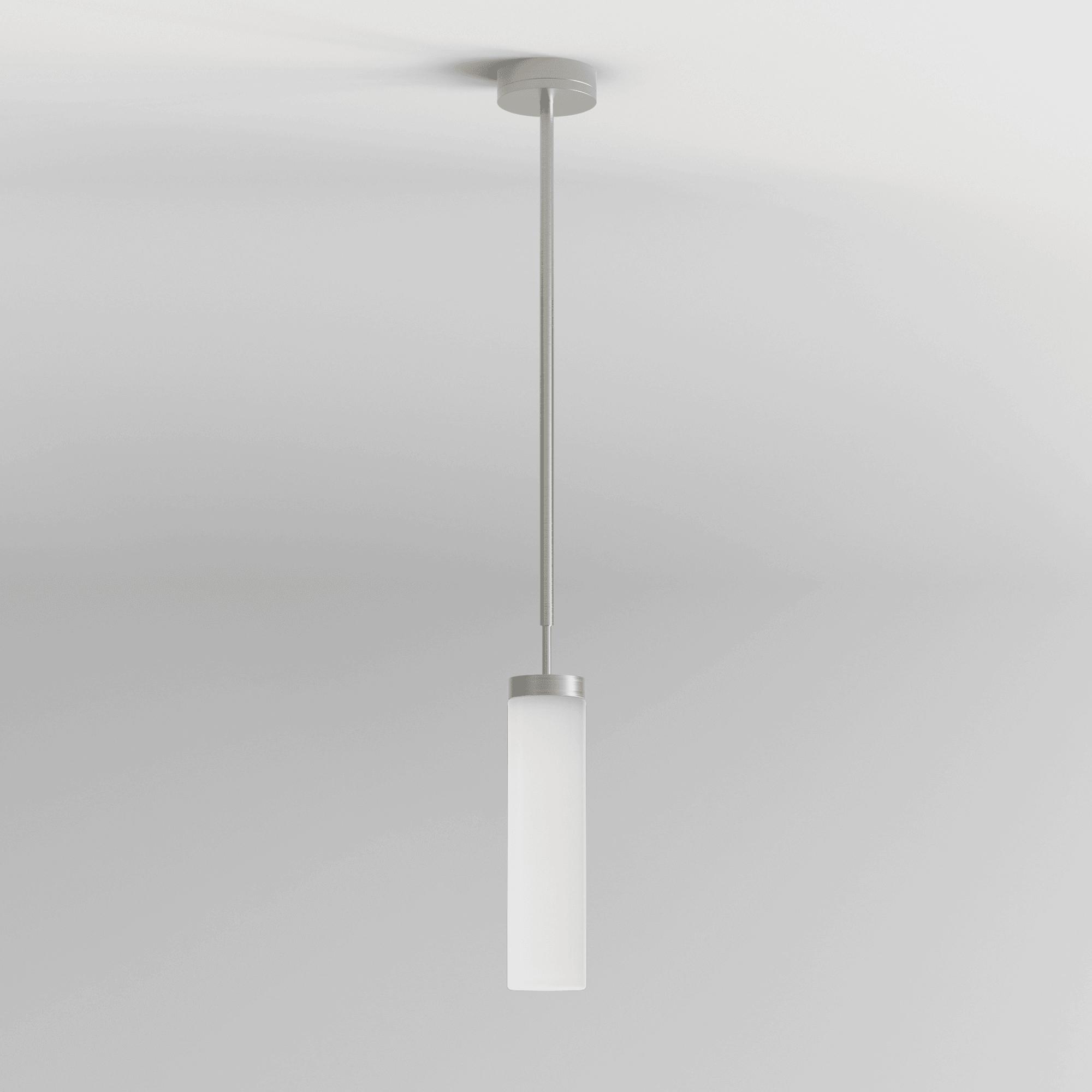 Astro 1060008 8559 Kyoto Ip44 Led Bathroom Pendant Light Matt Nickel