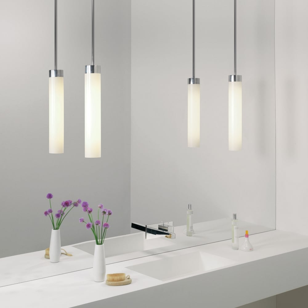 astro lighting 7031 kyoto pendant ip44 bathroom light. Black Bedroom Furniture Sets. Home Design Ideas