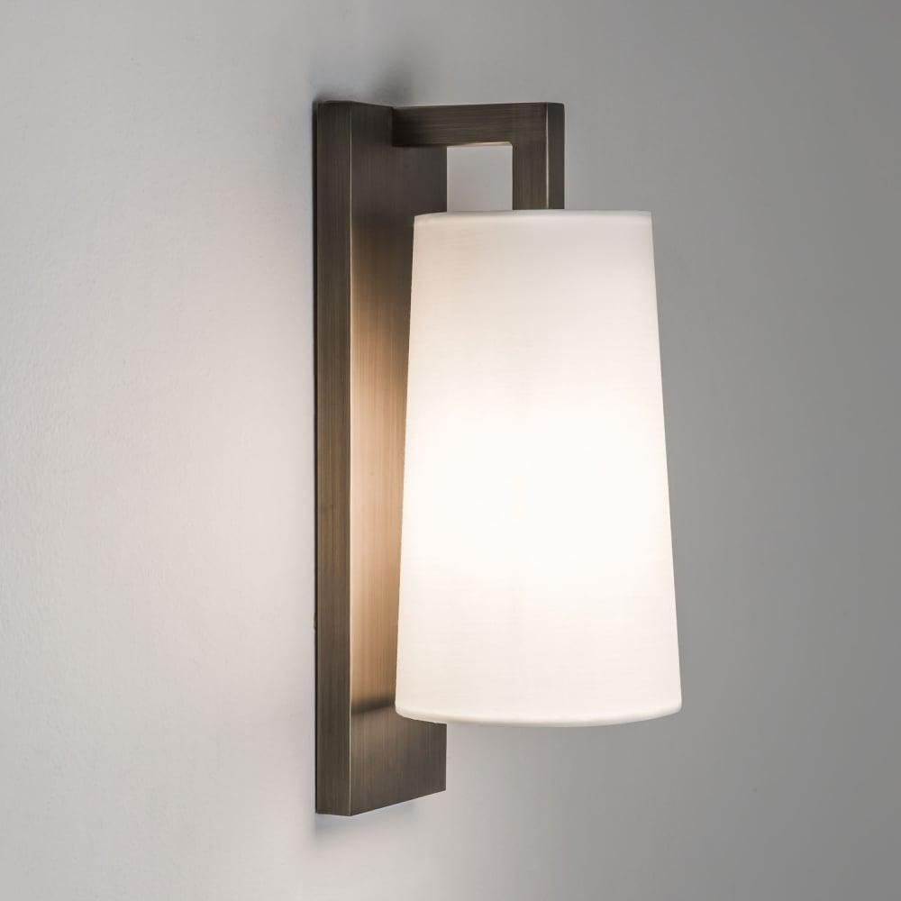 Lago 280 IP44 Bathroom Wall Light in Bronze & Astro Lighting 7086 Lago 280 IP44 Bathroom Wall Light in Bronze