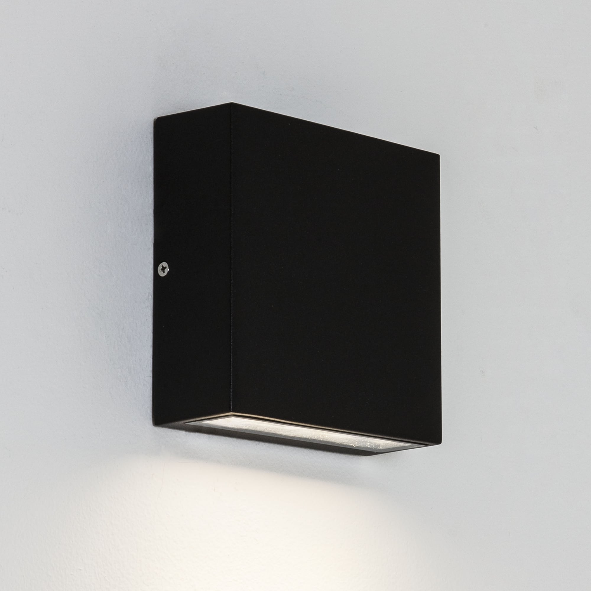 Picture of: Astro Lighting 7201 Elis Led Single Ip54 Exterior Wall Light In Black