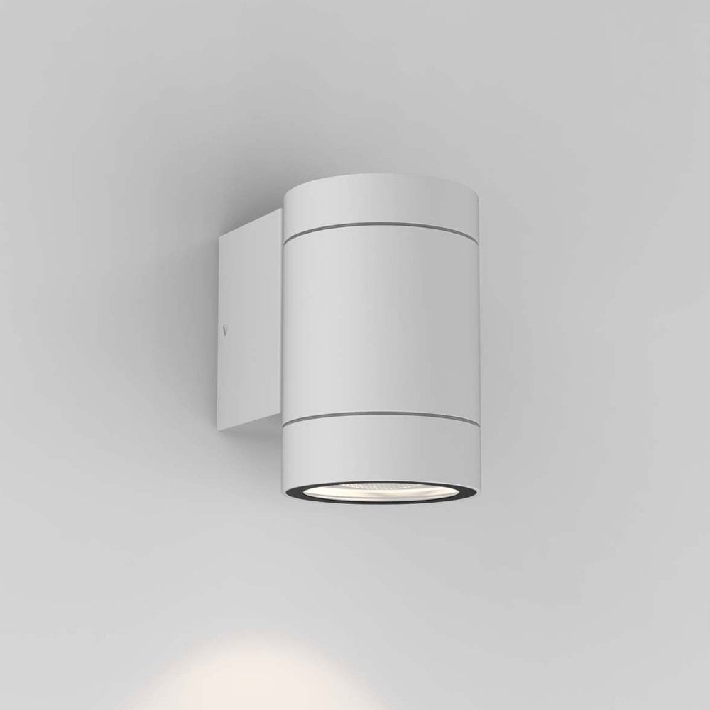 best website 9ee75 34827 Dartmouth Single GU10 IP54 Exterior Wall Light in White