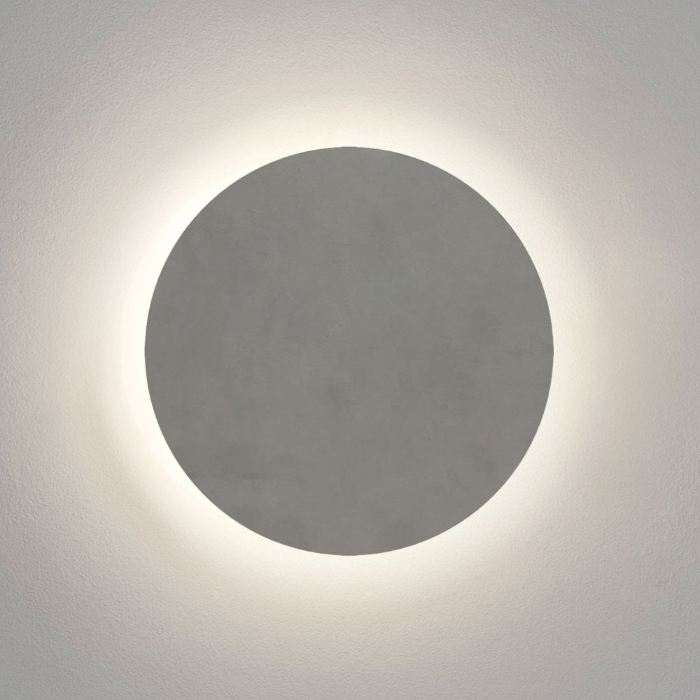 Astro Lighting 1333011 Eclipse Ip44 Round 300 Led Concrete