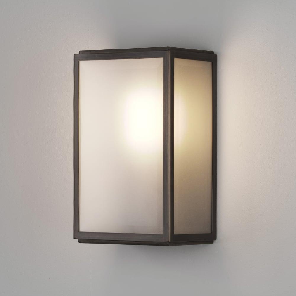 timeless design 132b0 26819 Homefield Exterior Sensor PIR Wall Light in Bronze