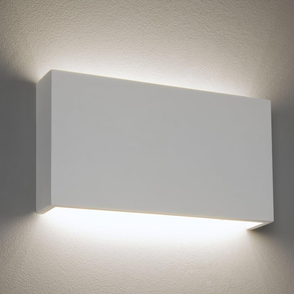 buy popular f071b 0b9df Rio LED 325 Dimmable Rectangular Plaster Wall Light