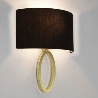 Lima Matt Gold Wall Light