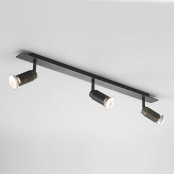 Magna Bronze Triple Bar Spotlight