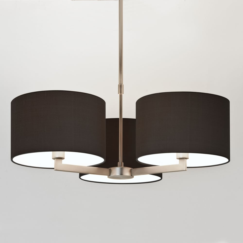 Martina 3 Arm Pendant Light In Matt Nickel