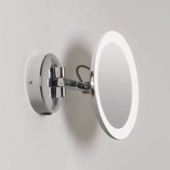 Mascali LED Round Illuminated Magnifying Mirror