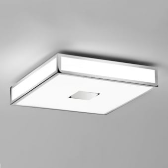 Mashiko 300 LED IP44 Ceiling Lamp in Polished Chrome
