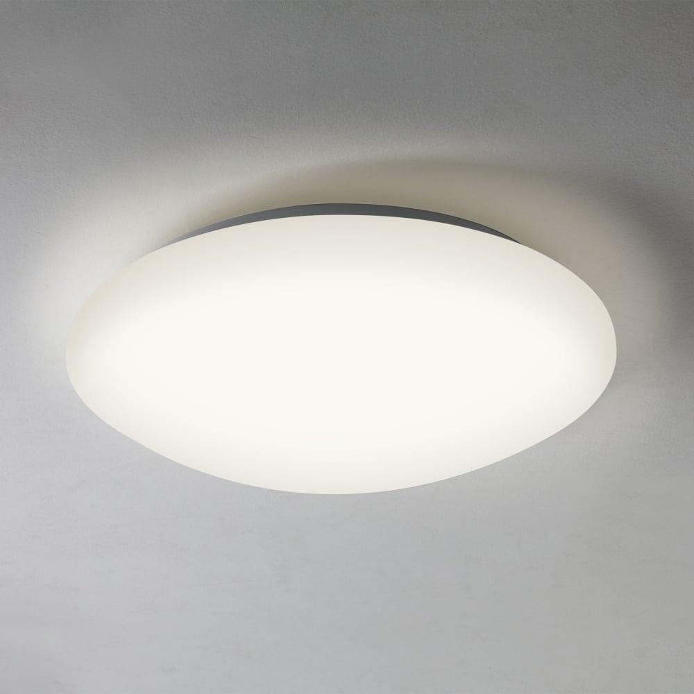 Led Ceiling Lights With Sensor: Astro Lighting 7395 Massa Motion Sensor LED Bathroom Ceiling Light