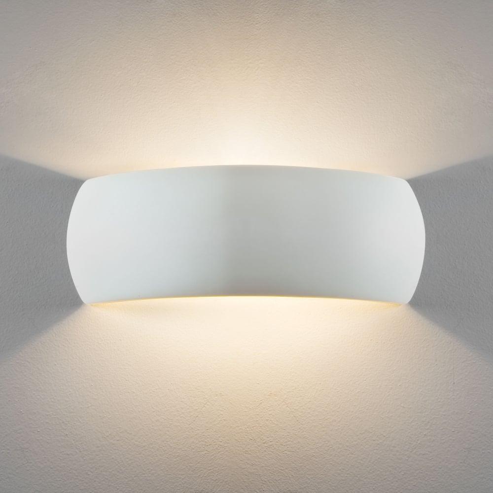 8eeffbd58257 Astro Lighting 7506 Milo 400 White Ceramic Wall Light