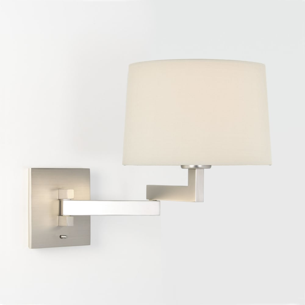 Astro lighting 0751 momo swing arm switched wall light in matt nickel momo swing arm switched wall light in matt nickel aloadofball Choice Image