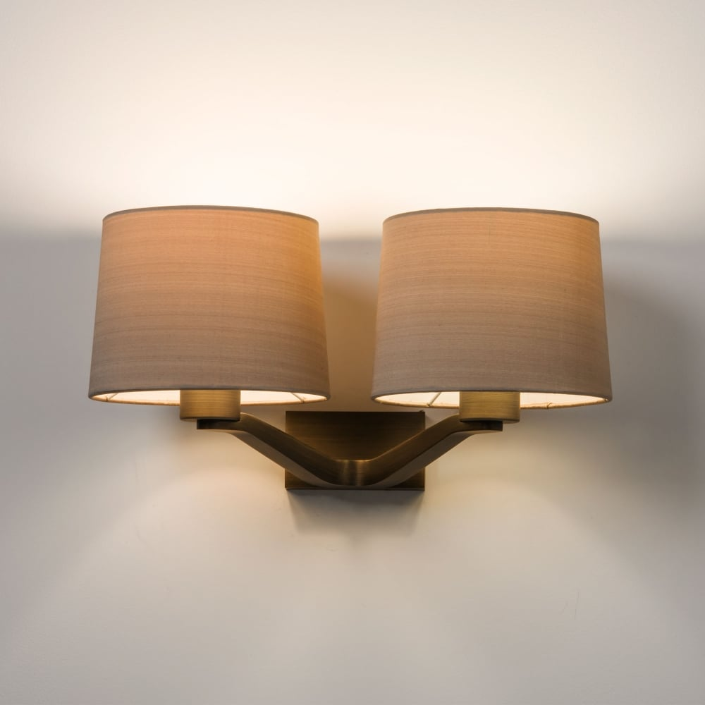 Astro lighting 7479 montclair twin wall light in bronze montclair twin wall light in bronze aloadofball Images