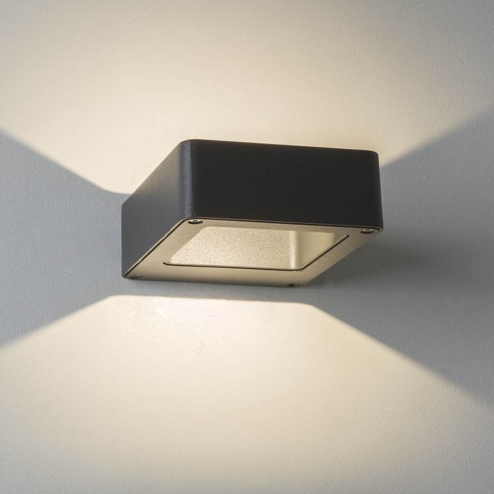 Astro Lighitng 1357004 8003 Napier Led Exterior Wall Light In Black
