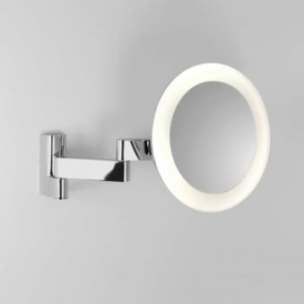 Niimi LED Round Illuminated Magnifying Mirror