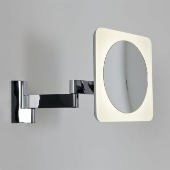 Niimi Square LED Illuminated Magnifying Mirror