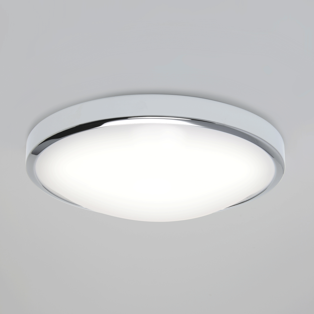 Astro 7411 Osaka Sensor Led Chrome Bathroom Ceiling Light