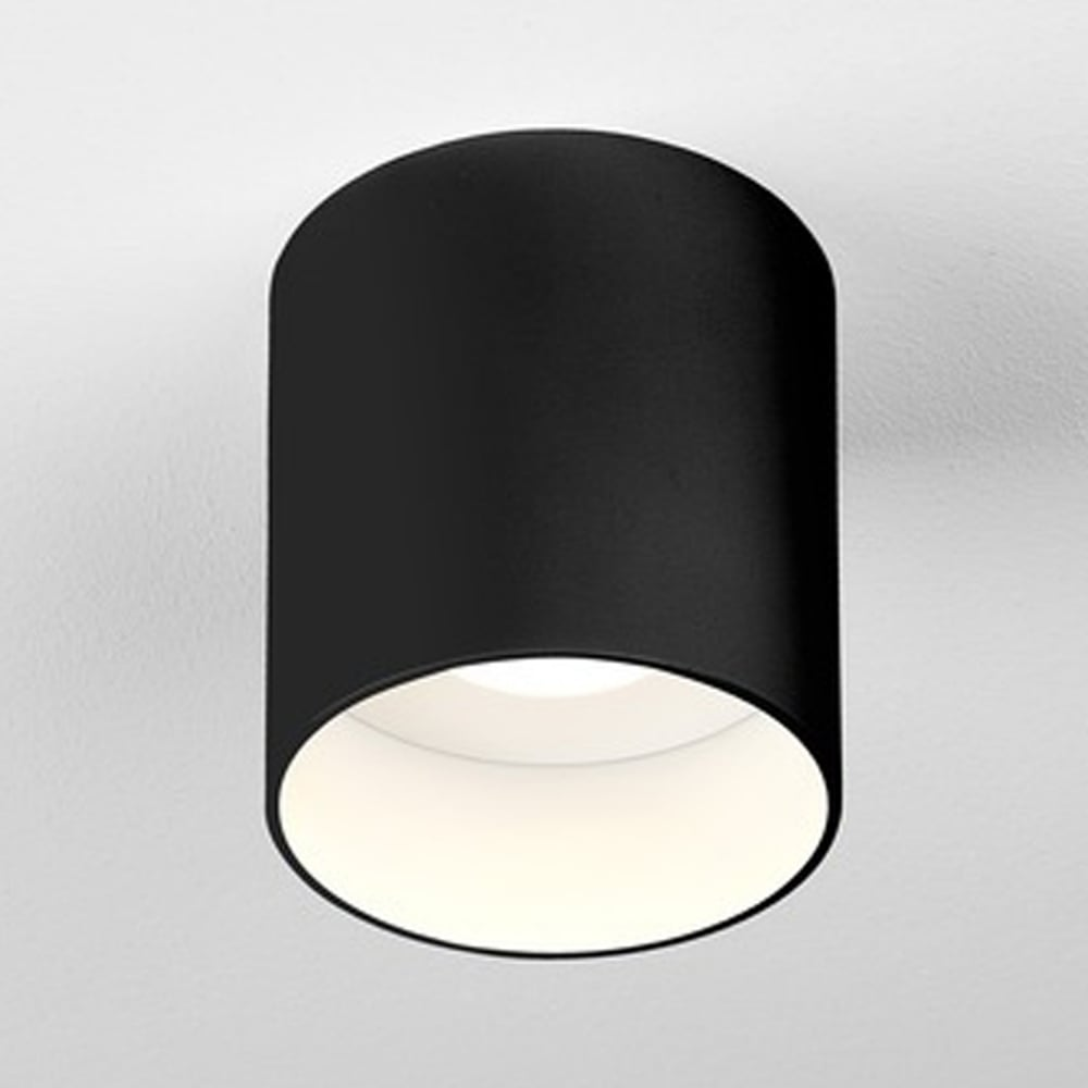 astro 7997 osca round led surface mounted downlight in black. Black Bedroom Furniture Sets. Home Design Ideas