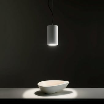 Osca Round White Pendant Light