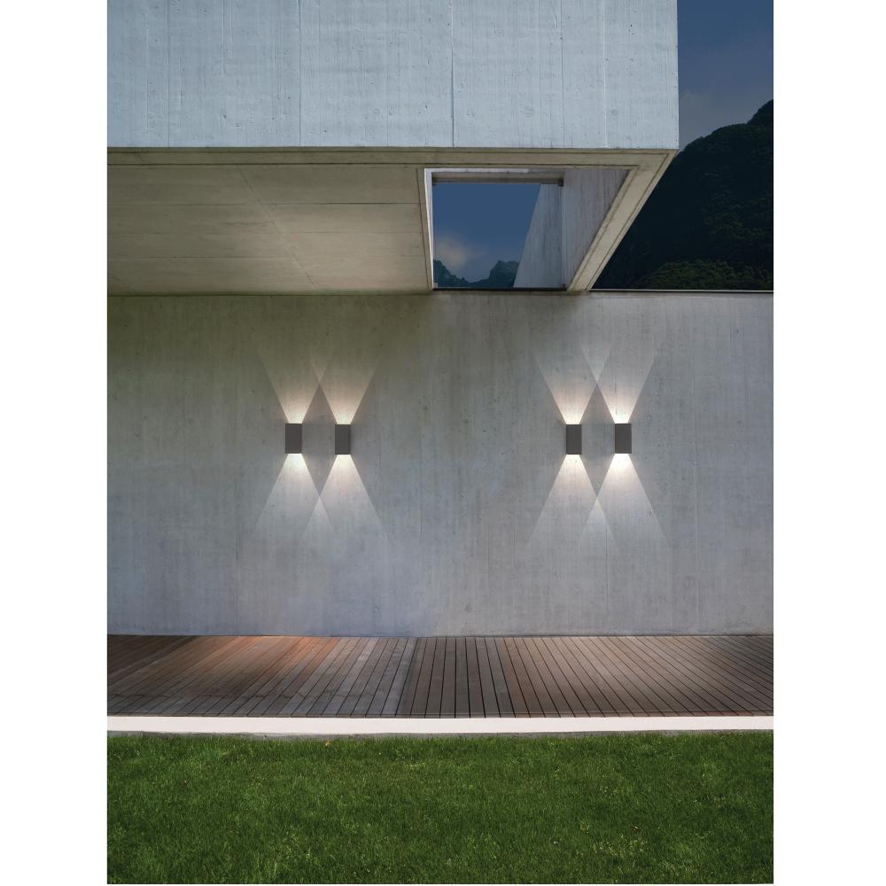 Exterior Wall Lights Ip65 : Astro Lighting 7061 Oslo 160 LED IP65 Exterior Wall Light in Black