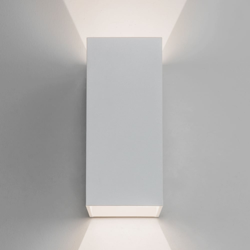 Astro lighting 7494 oslo 160 led ip65 exterior wall light in white oslo 160 led ip65 exterior wall light in white aloadofball Images