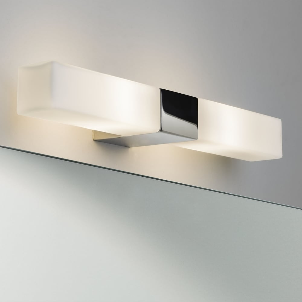 bathroom wall lights for mirrors astro 7028 square bathroom mirror wall light 22573