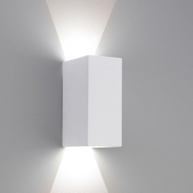 Astro Lighting 0886 Parma 160 LED White Plaster Wall Light