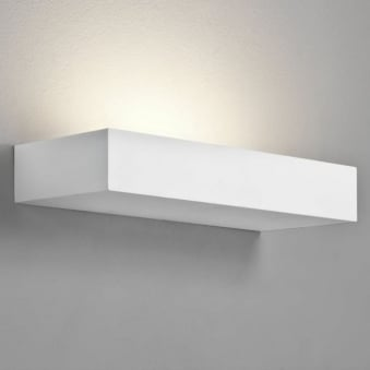 Parma 200 White Plaster Wall Light