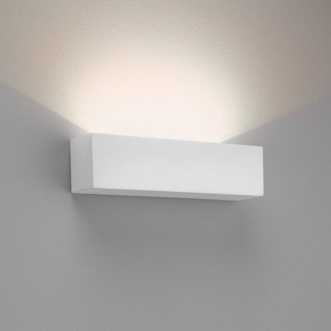 Wall Lights Plaster Finish : Astro Lighting 7599 Parma 250 LED Wall Light 2700K White Plaster