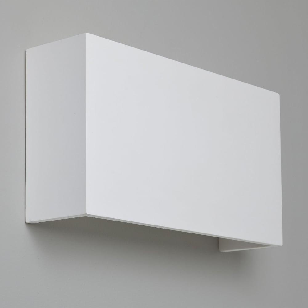 Astro lighting 7140 pella 325 white plaster wall light pella 325 white plaster wall light aloadofball Image collections