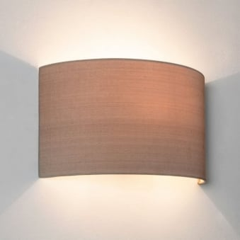 Petra 180 Oyster Shade Wall Light