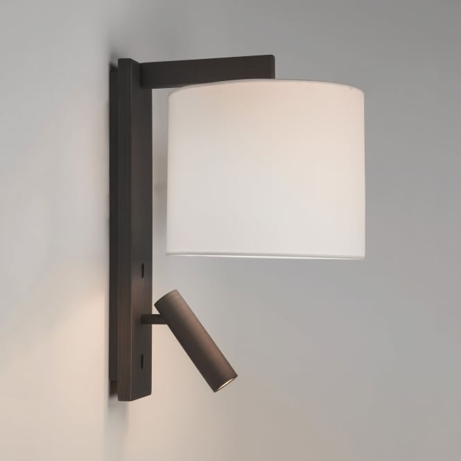 Astro Ravello LED Reader Dual Wall Light in Bronze