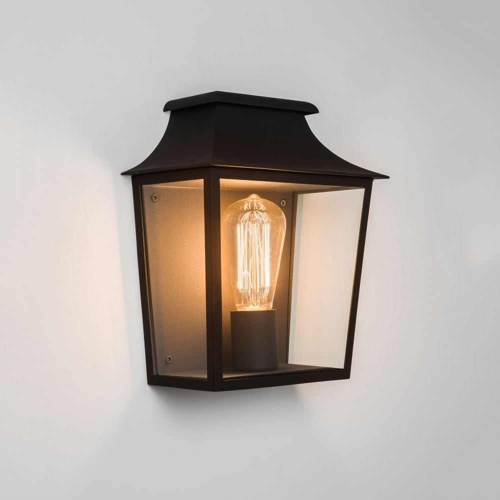 Astro lighting richmond 235 ip44 exterior wall lantern light in black richmond 235 ip44 exterior wall lantern light in black workwithnaturefo