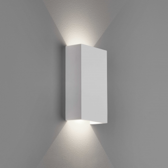 Rio 2700K LED 125 Plaster Wall Light