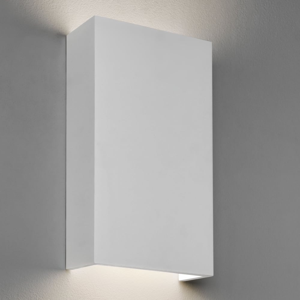 Astro Rio LED 190 Dimmable Plaster Wall Light - Fitting Type from Dusk Lighting  UK