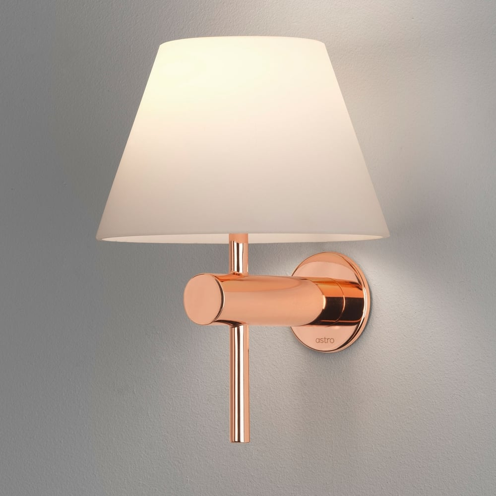 Astro Lighting 8056 Roma Ip44 Bathroom Wall Light In Copper