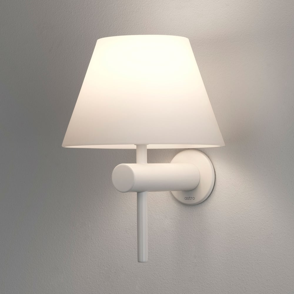 white bathroom lighting astro lighting 8034 roma ip44 bathroom wall light in matt 15078
