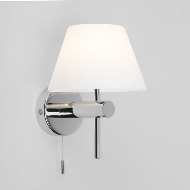 Astro Roma Switched Wall Light in Polished Chrome