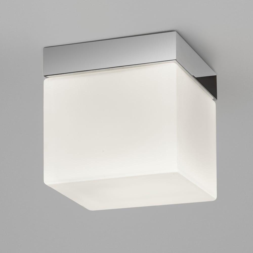 Astro lighting 7095 sabina square 175 bathroom ip44 ceiling light for Square bathroom ceiling light