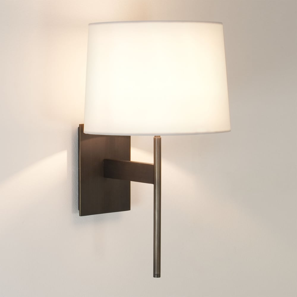 Astro Lighting 0940 San Marino Solo Wall Light In Bronze: Astro Lighting 1076007 San Marino Solo Wall Light In Bronze