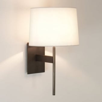 San Marino Solo Wall Light in Bronze