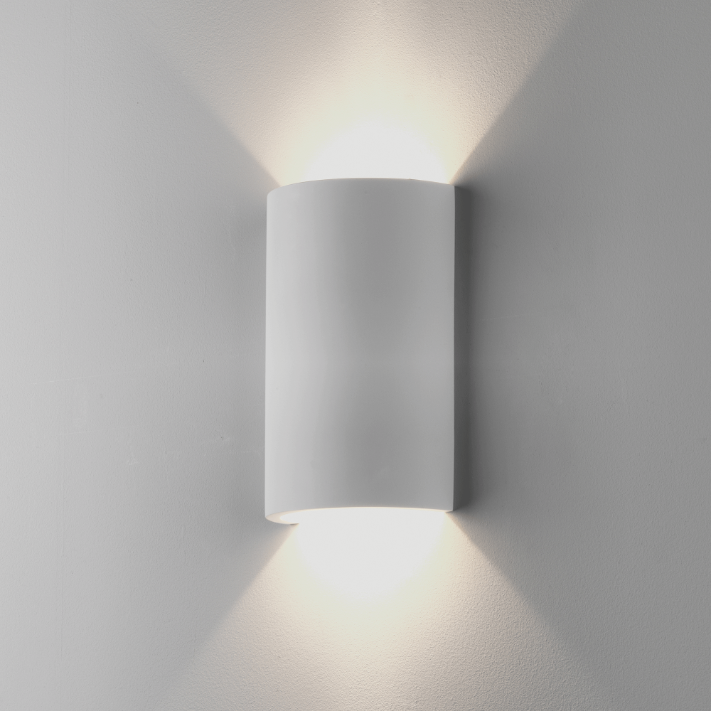 Astro Lighting 7909 Serifos 220 White Plaster Wall Light