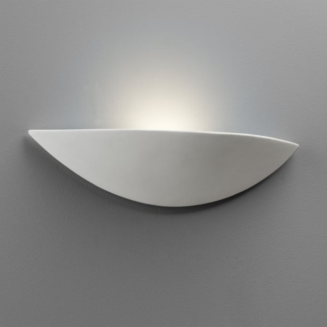 Astro Slice Wall Light with a Ceramic Finish