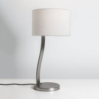 Sofia Table Lamp in Matt Nickel